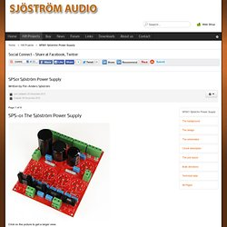Sjöström Audio - SPS01 Sjöström Power Supply