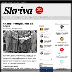 Sju steg -tidningen Skriva