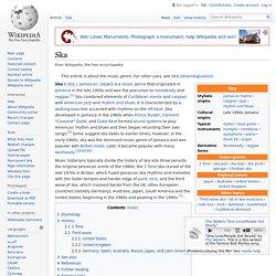 Ska - źródło: Wikipedia eng