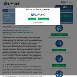 Skadeståndsansvar för vårdnadshavare - Skadeståndsansvar för underåriga och vårdnadshavare - Lawline