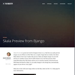 Skala Preview from Bjango