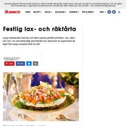 Recept lax- och skaldjurscheesecake