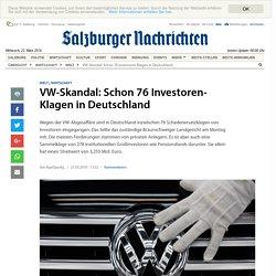 VW-Skandal: Schon 76 Investoren-Klagen in Deutschland