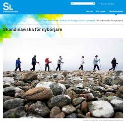 Skandinaviska för nybörjare