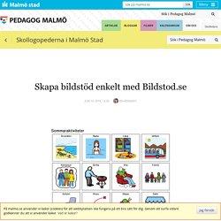 Skapa bildstöd enkelt med Bildstod.se