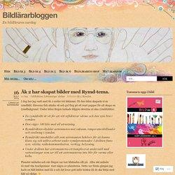 Åk 2 har skapat bilder med Rymd-tema.