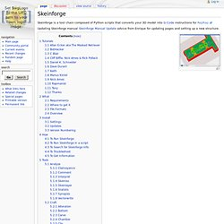 Skeinforge - Wiki