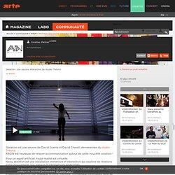 Skeleton, une oeuvre interactive du studio Théoriz