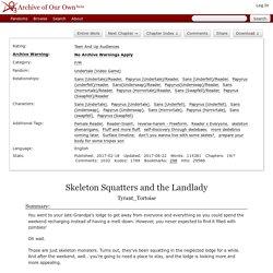 Skeleton Squatters and the Landlady - Tyrant_Tortoise