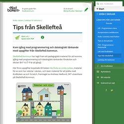 Tips från Skellefteå (Koda i skolan, Länktips för lektioner)