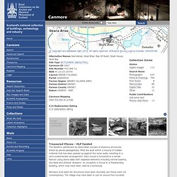 Site Record for Skara Brae Skerrabrae; Skea Brae; Bay Of Skaill; Skaill House; Skail BayDetails Details