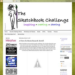The Sketchbook Challenge: A View of a Room-Susan R. Sorrell