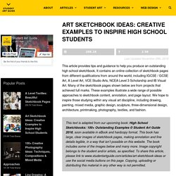 Art Sketchbook Ideas: Creative Examples to Inspire High School Students