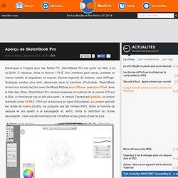 Aperçu de SketchBook Pro