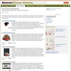 Sketchbooks - Choosing Artist's Sketchbooks