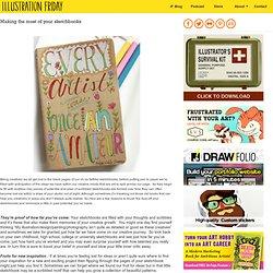 Sacar el máximo partido de sus cuadernos de bocetos