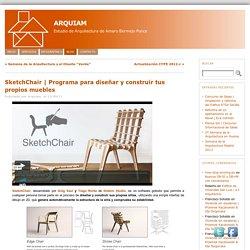 Programa para diseñar y construir tus propios muebles « Arquiam