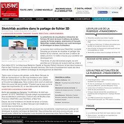 Sketchfab accélère dans le partage de fichier 3D