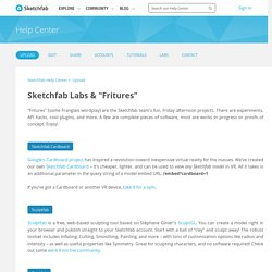 "Sketchfab Labs & ""Fritures"" – Sketchfab Help Center"