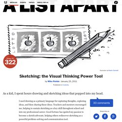 Sketching: the Visual Thinking Power Tool