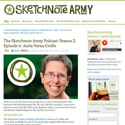 The Sketchnote Army Podcast: Season 2, Episode 4: Anita Verna Crofts