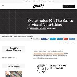 Sketchnotes 101: The Basics of Visual Note-taking