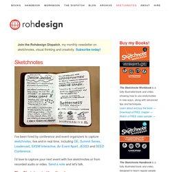 Sketchnotes - Designer Mike Rohde