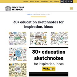 30+ education sketchnotes for inspiration, ideas - Ditch That Textbook