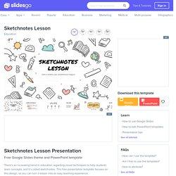 Sketchnotes Lesson Google Slides & PowerPoint Template