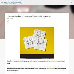 S'initier au sketchnoting par l'annotation créative