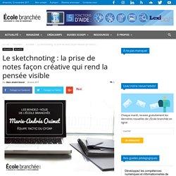 Sketchnoting : prise de notes créative qui rend la pensée visible