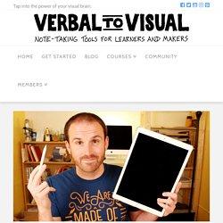 Sketchnoting on the iPad with Procreate - Verbal To Visual