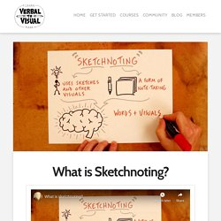 What is Sketchnoting? - Verbal To Visual