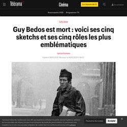 Guy Bedos est mort : voici ses cinq sketchs et ses cinq rôles les plus emblématiques...