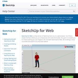 SketchUp for Web [en]