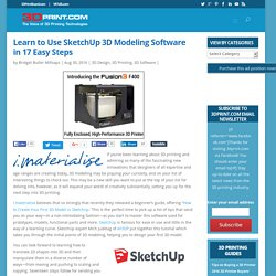 Learn to Use SketchUp 3D Modeling Software in 17 Easy Steps