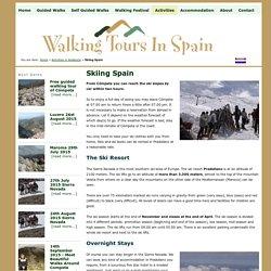 Skiing Spain