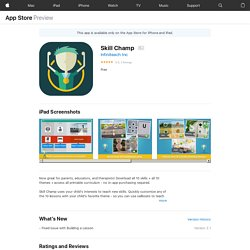 Skill Champ on the AppStore