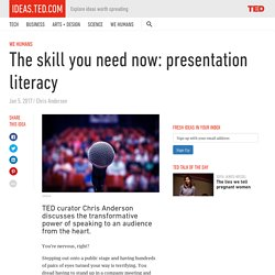 The skill you need now: presentation literacy – ideas.ted.com
