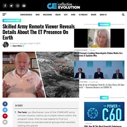 Skilled Army Remote Viewer Reveals Details About The ET Presence On Earth