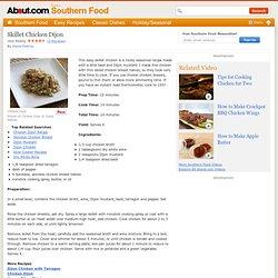Skillet Chicken Dijon Recipe