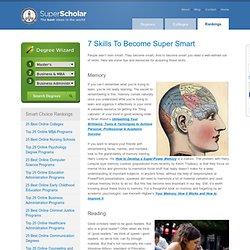7 Skills To Become Super Smart