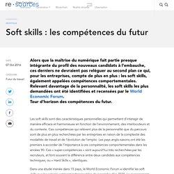 Soft skills : les compétences du futur