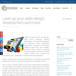 Level up your skills design, development and more - Emobilize