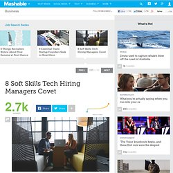8 Soft Skills Tech Hiring Managers Covet