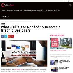 What Skills Are Needed to Become a Graphic Designer?