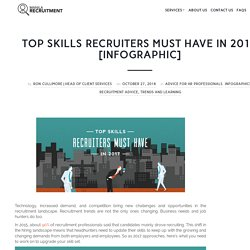 Top Skills Recruiters Must Have in 2017 [Infographic]