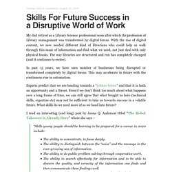 Skills For Future Success in a Disruptive World of Work – Tanmay Vora