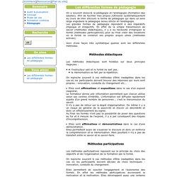 [Skillway] Les différentes formes de pédagogie