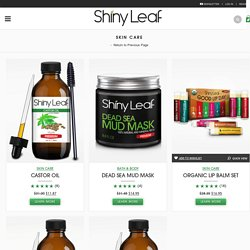 Skin Care Made Easy and All Natural by Shiny Leaf